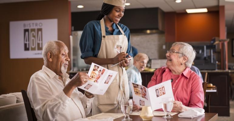Sodexo targets boomers in senior communities with bistro concept