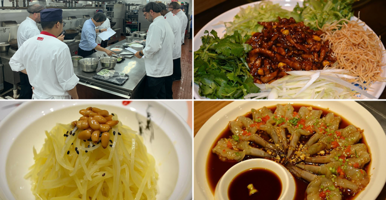 China trip a lesson in cuisine traditions for college dining team ...
