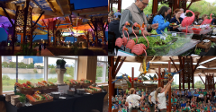 Take a tour of the Indy Zoo's wild, colorful catering world