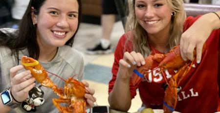 BU students with lobster.jpg