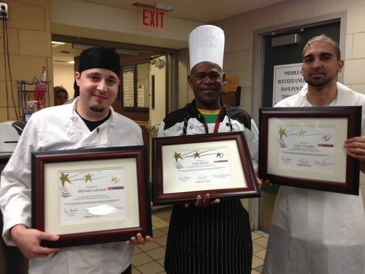 Graduates of the RWJ White Toque Culinarians