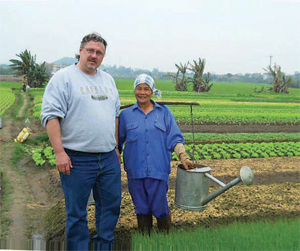 Chris Murray, Taher regional chef, in Vietnam