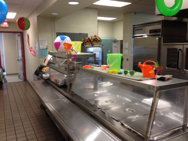 SUMMER FUN: One of Altoona's summer food service program sites, made fun for summer.