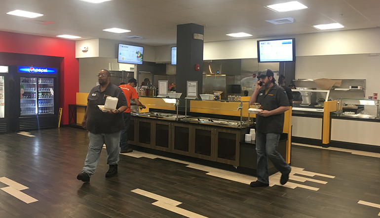 Continental B I Location Makes Foodservice A Top Priority