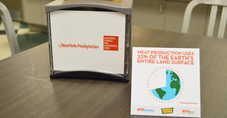 NY-Presbyterian launches Meatless Mondays at four sites | Food