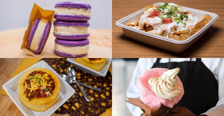 30 new menu items at NHL and NBA arenas