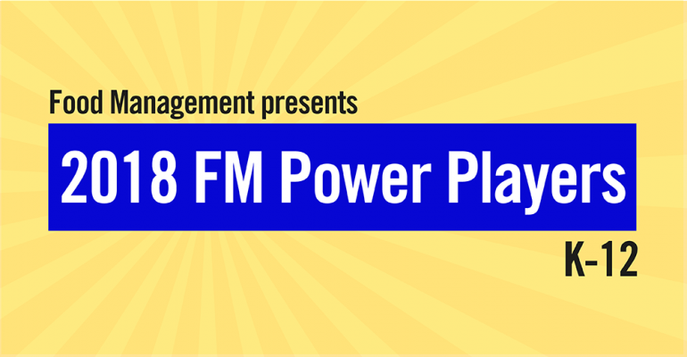 Food Management 2018 Power Players K-12