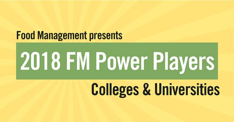 2018 College/University Power Players