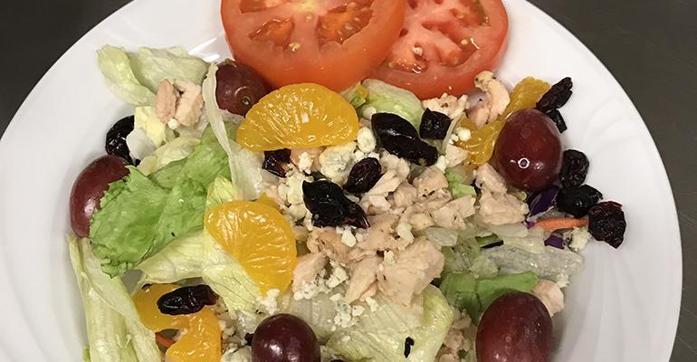 Brown's three-bean salad prepared by Gul.