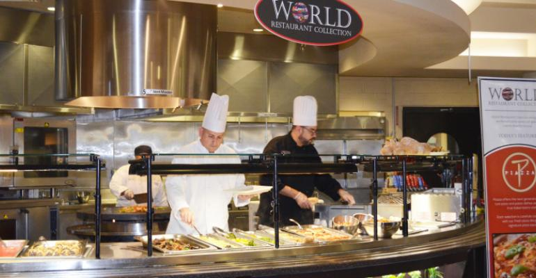 Medical center's cafeteria pop-up cuisine breaks through monotony