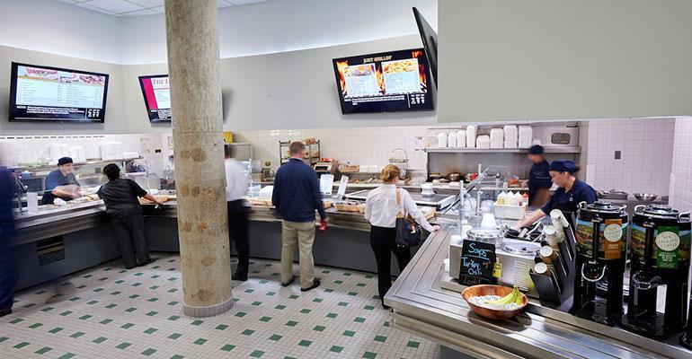 Bulova Center cafe