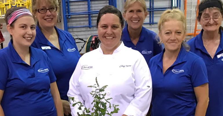 chef irene and crew