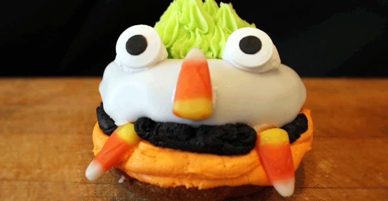 The Halloween donut