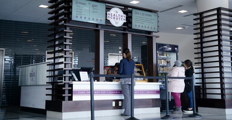 Cancer center café emphasizes cancer-fighting foods