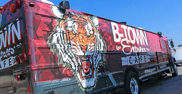 Belton ISD food truck
