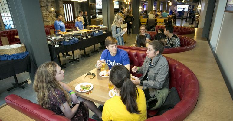 Campus pub crawl