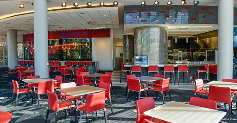 A tour of new college dining facilities for fall 2015