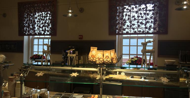 Take a tour of Yale's dining program
