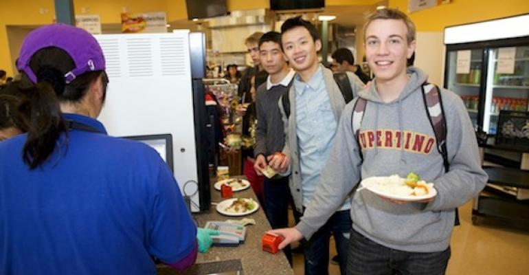 Cupertino High's New Cafeteria