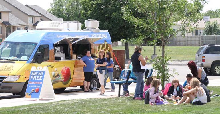 K-12 summer feeding programs hit the road