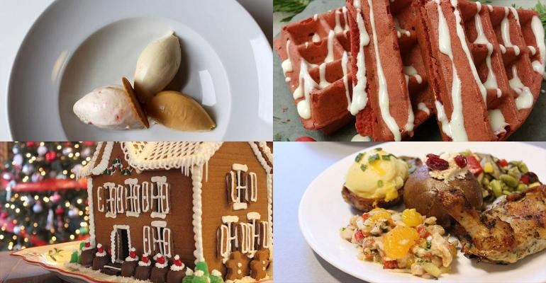 Holiday menus