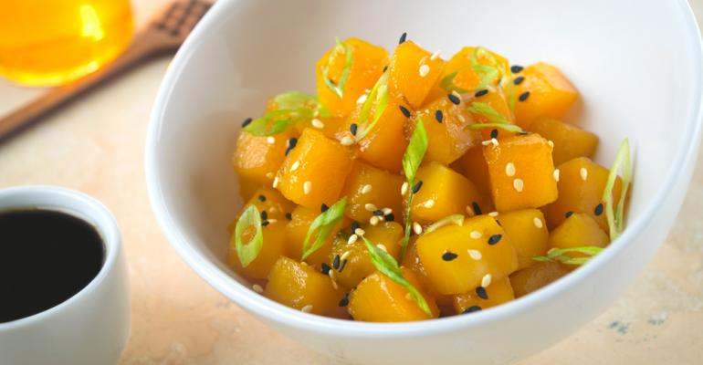 honey squash poke