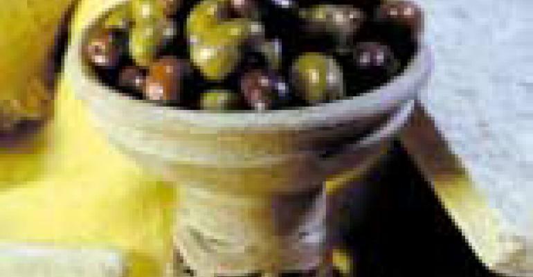 Olive Sicilane Al Forno (Sicilian Baked Olives)