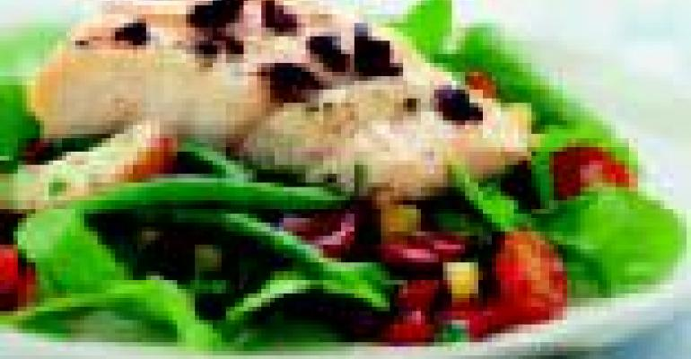 Alaska Cod with Nioise-Style Salad