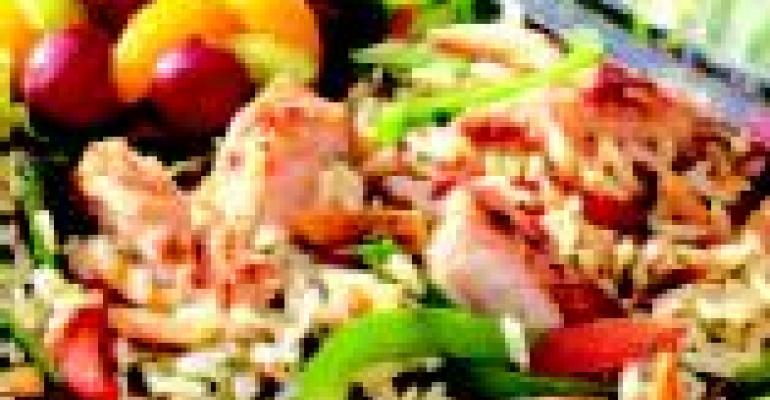Asian Chicken Wild Rice Salad