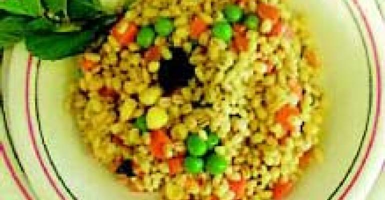 Saiy Minted Barley Salad
