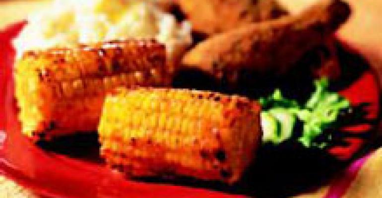 Honey BBQ Roasted Corn