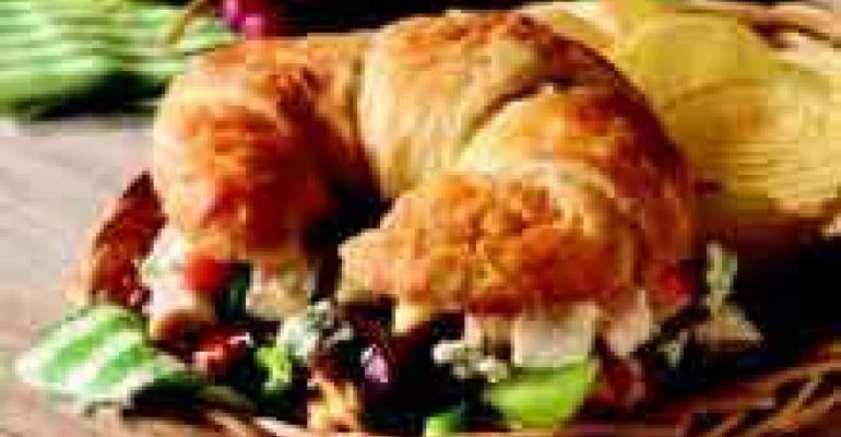 Gorgonzola Waldorf Sandwiches