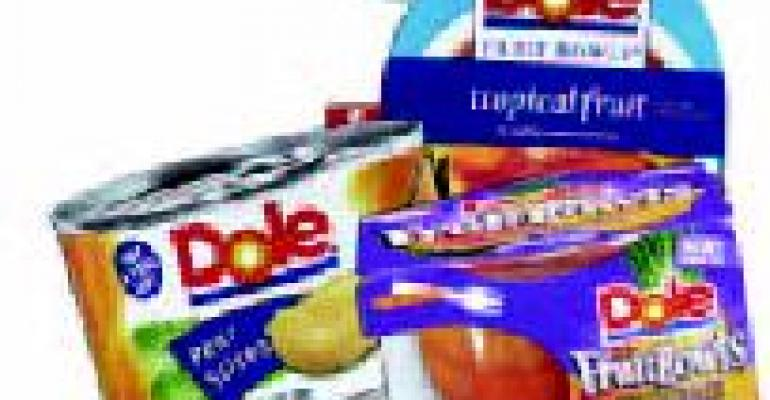 Dole vending products