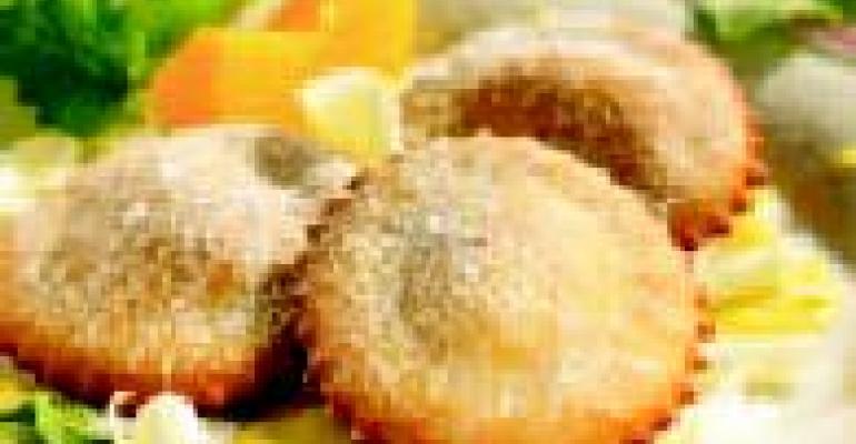 Peach Dessert Ravioli