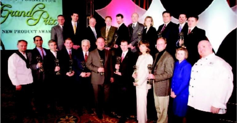 The North American Foodservice GRAND PRIX AWARDS