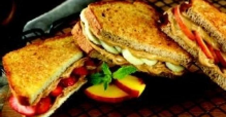 Rosemary Chicken, Avocado and Pancetta Panini