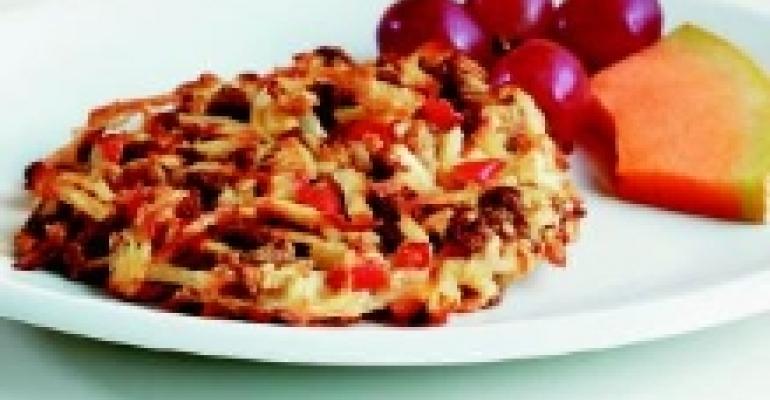 Potato-Oatmeal Hash Brown Patties