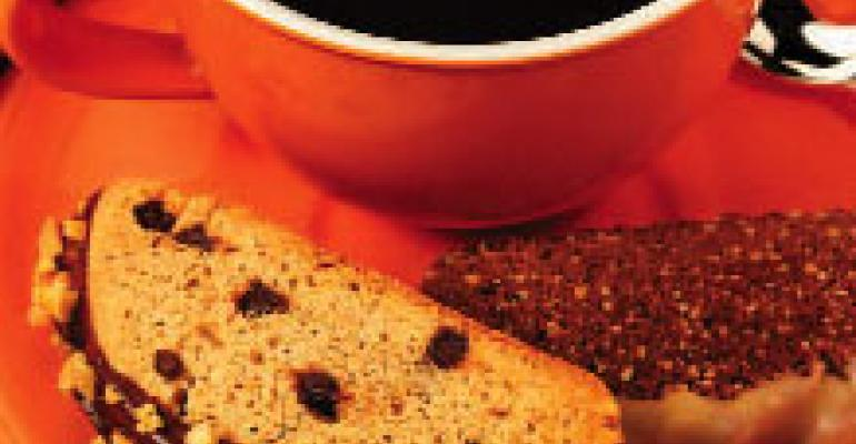 Peanut Chocolate Biscotti