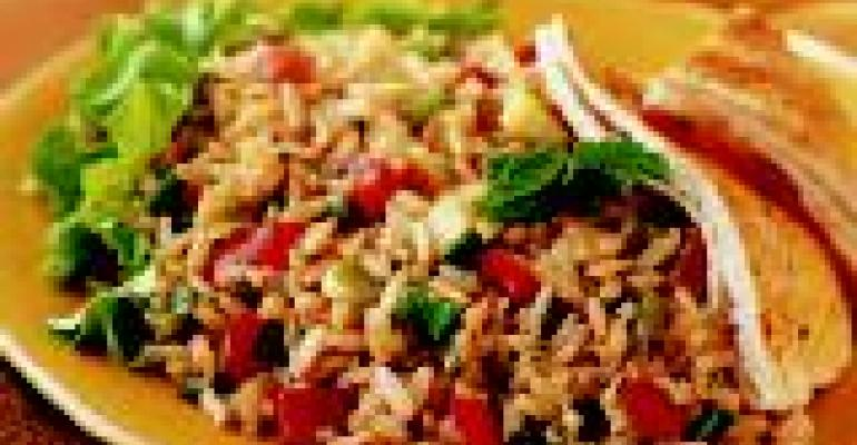 Minted Brown Rice Tabbouleh Salad
