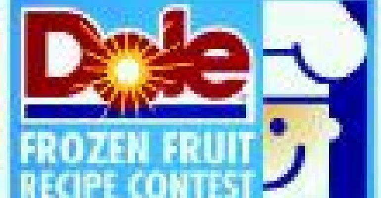 Frozen fruit recipe contest