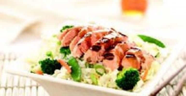 Grilled Wild Salmon Teriyaki Bowl