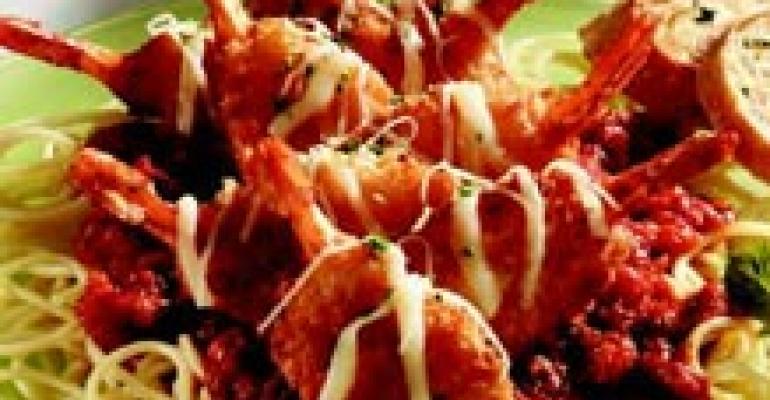 King & Prince/Mrs. Fridays Shrimp Parmesan