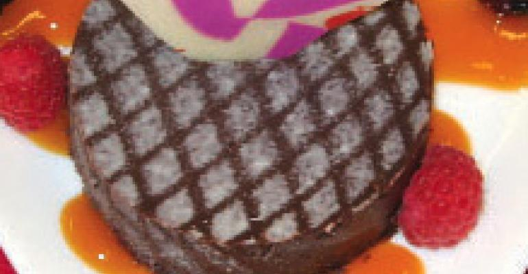 Flourless Mexican Chocolate Torte