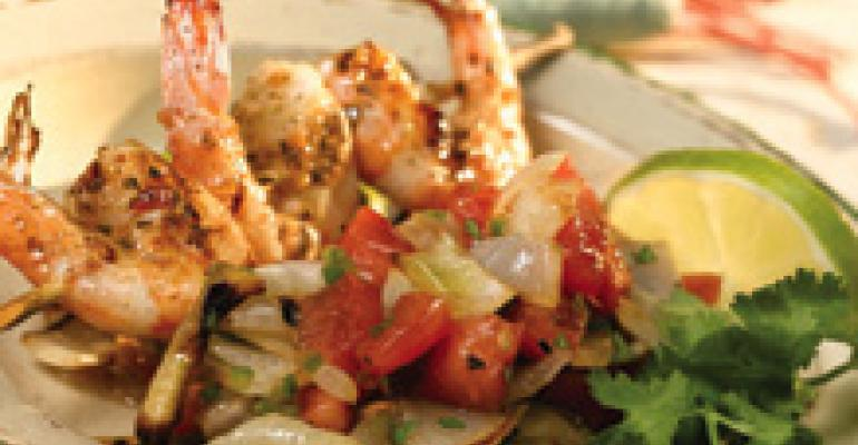 Grilled Onion Salsa