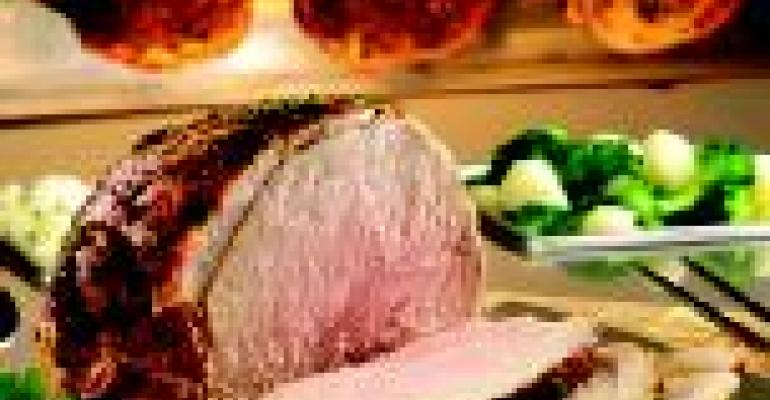 Farmland Extra Tender Sirloin Tip Pork Rotisserie Roast