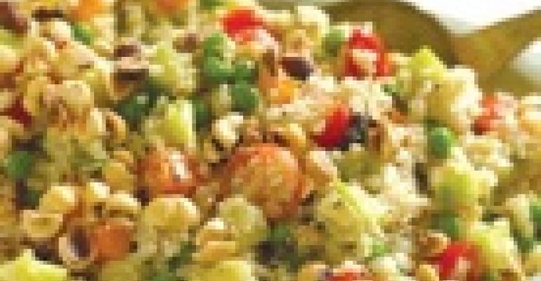 Hazelnut Quinoa Salad