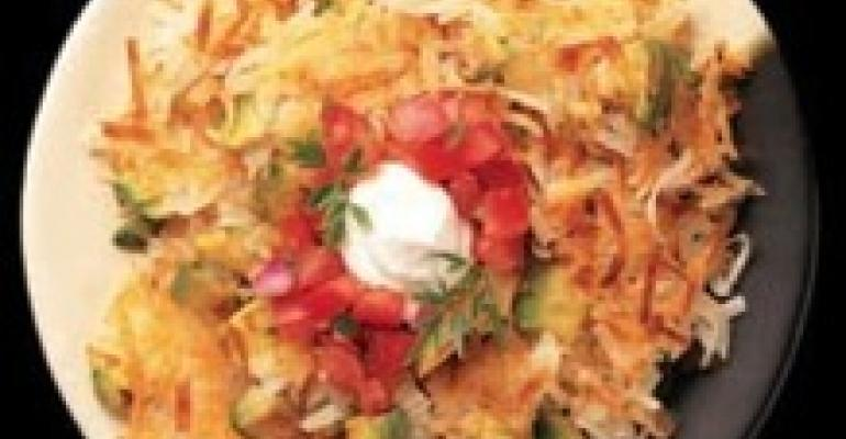 Avocado Hash Browns