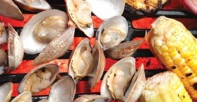 Easy Grilled Florida Clams