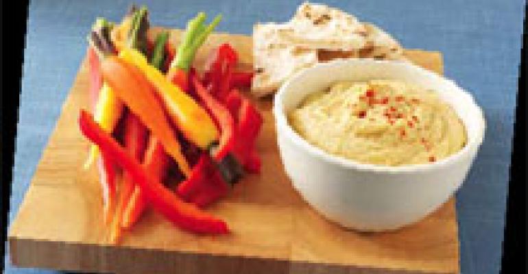 Ranched-Up Hummus Dips