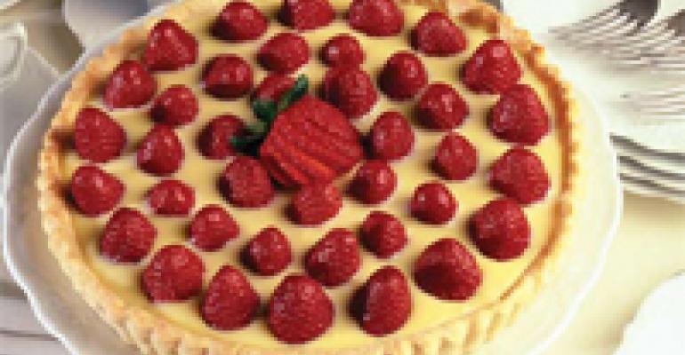 Strawberry White Chocolate Tart